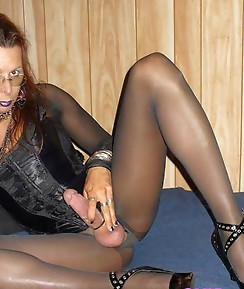 Cock sucking crossdresser sluts doing what only they do best.