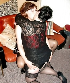 These crossdressers feel so good when they show off their cocks